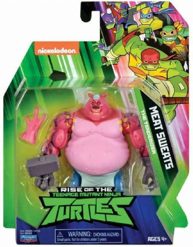 Rise of the Teenage Mutant Ninja Turtles Meat Sweats Action Figure